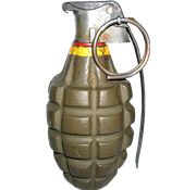 Grenade PNG Images On this site you can download free Grenade PNG image with transparent background.