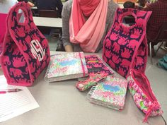 monogrammeredith:  unintentional Lilly-ing it up in third hour
