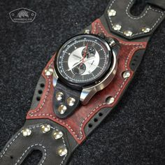 ARMADILLO - Изделия из кожи ручной работы Leather Harness, Leather Cuffs, Leather Bag, Leather Tooling Patterns, Skeleton Watches, Leather Projects, Leather Watch Bands, Leather Working, Watches For Men