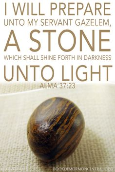 The practice of using stones or glass to receive divine revelation is found in many cultures, including among the ancient Israelites and the ancient (as well as modern) Maya. Mormon theology allows for the Lord to communicate to His children through culturally embedded methods such as the Liahona used by Lehi and Nephi.  https://knowhy.bookofmormoncentral.org/content/why-was-a-stone-used-as-an-aid-in-translating-the-book-of-mormon #JosephSmith #Seer #Stone #Hat #BookofMormon #LDS #Faith