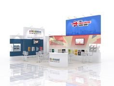 Prestige Exhibition Display Design (853)
