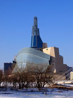 Canadian Museum For Human Rights - Winnipeg, Man. Visit Canada, Burj Khalifa, Willis Tower, Human Rights, Museums, Past, Places To Go, Buildings, Spaces