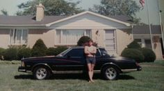 Me and my car in the late 80's