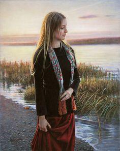 ''Réminiscence'', 38 X 30 inches - Danielle Richard