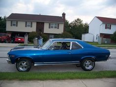 """Nancy Griffin of Windsor Township submitted this photo to the York Daily Record/Sunday News online transportation gallery. Griffin said the 1969 Nova belongs to her boyfriend, Michael Harris. """"We have a lot of fun with this car,"""" Griffin writes. """"It is a blast to drive."""" See this vehicle and others or submit your own photo at http://www.ydr.com/gallery. To catch up on York County's automotive news, visit http://www.facebook.com/WheelsOfYorkCounty."""