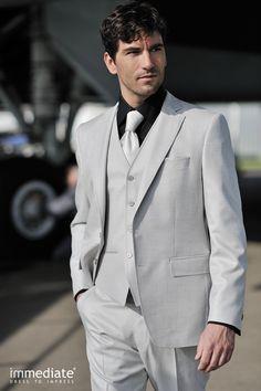 Trendy outfit voor de bruidegom uit de collectie van Immediate.