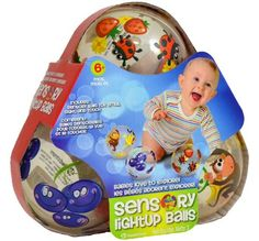 4 inch Scented Sensory Light-Up Balls... $18.25 #topseller