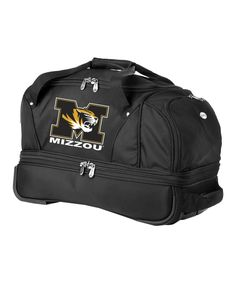 Look at this Missouri Tigers Small Rolling Suitcase on #zulily today!