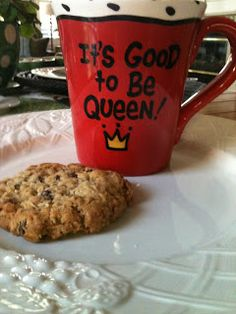 Kitty's Kozy Kitchen: THE BEST Oatmeal Raisin Cookies- these were very good!