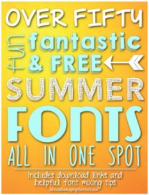 i should be mopping the floor: My 25 Favorite Free Chalk Fonts