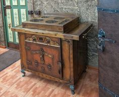 Steampunk stove