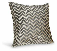 Herringbone Black Pillow #roomandboard