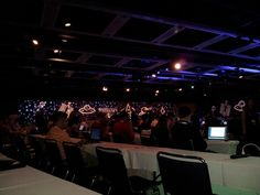 First day of #mozcon! Loving the space theme @Moz!