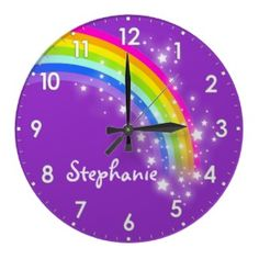 Stunning wall clocks you won't find anywhere else!  Today I'm featuring wall clocks from Zazzle! They are great because they feature unique designs you won't find anywhere else, and you can customize them for a truly personal touch.
