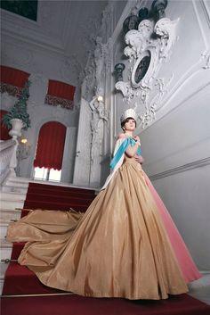 Anastasia Romanov - Anastasia. It matches the dress in the movie perfectly! So cool!