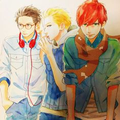 Ikemen boys by Yamamori sensei