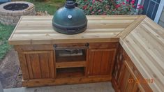 big green egg table plans | MY NEW EGG TABLE !!! --- 2ND time around