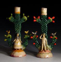 ceramic candelabras - Google Search