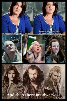 And then there are dwarves.....