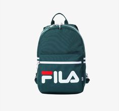 FILA Heritage Court Backpack Sports Back to School University Green  F3BPZ301  FILA  Backpack Fila