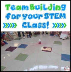 Team Building for STEM Challenges How do you build community in your classroom? Have you tackled STEM Challenges yet? How do you prepare your students for the fabulous collaboration that can occur when they work in groups to solve … Steam Activities, Science Activities, Activities For Kids, Teaching Science, Science Classroom, Science Education, Science Experiments, Enrichment Activities, Scout Activities