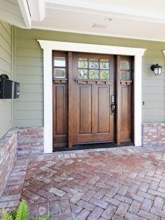 Craftsman Style Design front doors