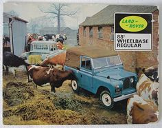 Land Rover. What a funny, funky picture!