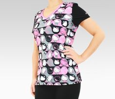 ASICS x Hello Kitty Athletic Tee: Pink Tues: Anything Pink #SephoraHelloKitty
