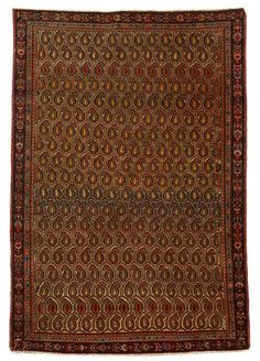 Sarouk Fereghan rugs   west persia, circa late 19th century  4 ft. 9 in. x 3 ft. 3 in. - FREEMAN'S