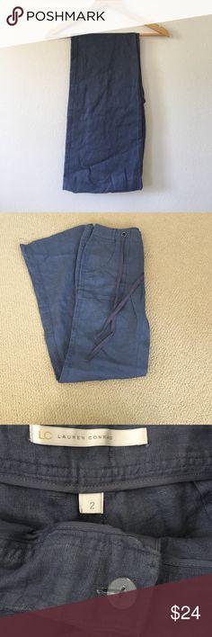 """⭐️Sale⭐️Lauren Conrad Linen Pants New & never worn. Waist 16.5"""" Length 40"""" LC Lauren Conrad Pants Wide Leg"""