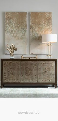 High end furniture. Modern sideboard. Gold tones decoration. For more inspiratio…   http://www.wowdecor.top/2017/07/26/high-end-furniture-modern-sideboard-gold-tones-decoration-for-more-inspiratio/