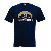 "Anthony Davis New Orleans Pelicans ""Brow Down"" T-Shirt ADULT MEDIUM"