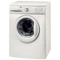 Buy Zanussi ZWG6120K Slimdepth Washing Machine, 6kg Load, A+ Energy Rating, 1200rpm Spin, White Online at johnlewis.com