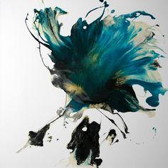 "Saatchi Online Artist Ilia Petrovic; Painting, ""Weird Fish"" #art"