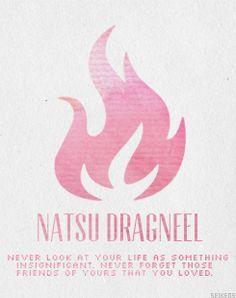 fairy tail quotes natsu - Google Search