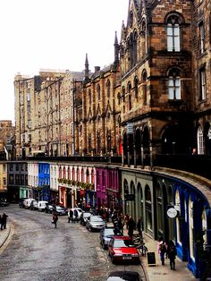 Old World Charm, Victoria Street, Edinburgh, Scotland by museumpiece