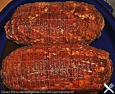 Gyro layer roast, a great recipe from the pork category. Marinated Pork Chops Grilled, Seared Pork Chops, Juicy Pork Chops, Baked Pork, Healthy Crockpot Recipes, Pork Chop Recipes, Meat Recipes, Healthy Pork Chops, Perfect Pork Chops