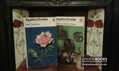 Lovely Tom Adams covers on these vintage Agatha Christie. For sale in our online shop.