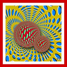 осмотрите на иллюзии некоторое время внимательно:  Если рисунки абсолютно неподвижны — вам не о чем беспокоиться, психическое здоровье в полном порядке. Профессор считает, что такой результат возможен у человека уравновешенного, спокойного и отдохнувшего. Если рисунки движутся медленно — вам необходим отдых, как физический, так и моральный. Особенно важен полноценный сон, который является лучшим антидепрессантом.