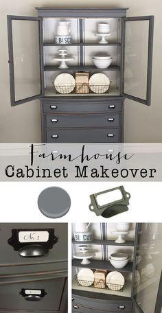 Farmhouse cabinet ma