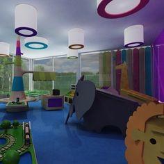 Jardín infantil y playground ombú