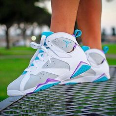 These Jordans look so comfortable!