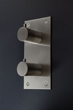 Brushed Nickel Thermostatic Shower Valve & Controls