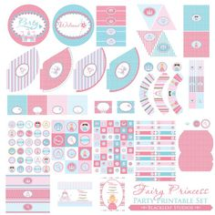 Fairy Princess printables