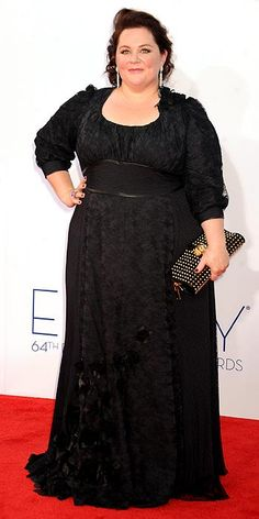 Melissa McCarthy - Emmys' Arrivals Gallery - Emmy Awards 2012 : People.com