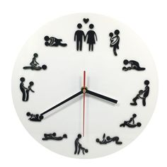 Cheap positions clock, Buy Quality sex positions clock directly from China sex clock Suppliers: Kama Sutra Sex Position Clock Sex Clock Novelty Wall Clock Make Love Clock Wedding Gift