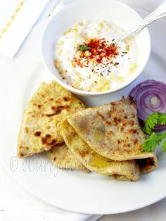 Aloo Parantha – Potato Stuffed Flatbread | eCurry - The Recipe Blog