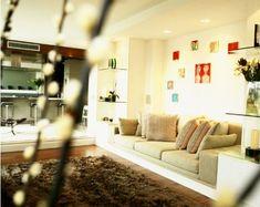 Surpreenda-se com a beleza e a praticidade dos sofás de alvenaria! Conheça suas vantagens. | Clique Arquitetura | Seu portal de Ideias e Soluções