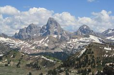 Grand Targhee Resort - looking at the Grand Tetons. One of the coolest places I have been.