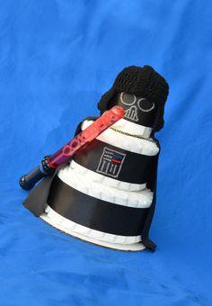 Gift For New Dad   Darth Vader Baby Shower   New Daddy Gift   Star Wars Dad    Geek Dad   Geek Baby   Darth Vader Crochet Hat   Starwars